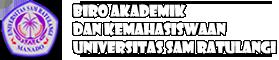 Prosedur pelaksanaan UTBK Universitas Sam Ratulangi tahun 2021 | Biro Akademik dan Kemahasiswaan Unsrat
